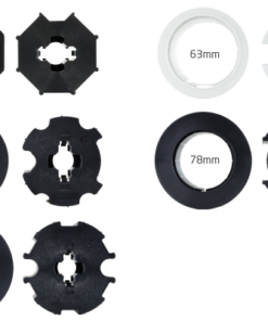 Adapter/Mitnehmer 63mm Rundnut