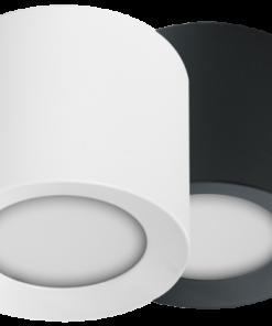 LED Aufbauspot RGBW PWM Anthrazit