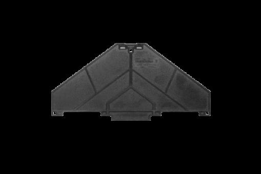 Weidmueller Abschlussplatte P-Reihe (10 Stk.)